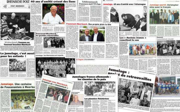 Revue de presse Pressespiegel