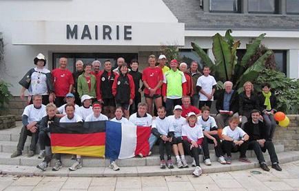 1000 km de course entre Meerbusch et Fouesnant