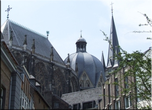 La cathédrale d'Aix la Chapelle