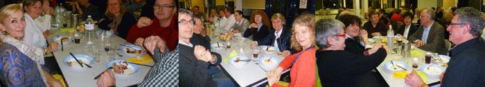 Choucroute au restaurant scolaire Fouesnant