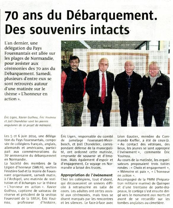 Le Télégramme - 02 03 2015