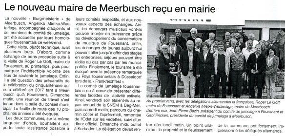 Ouest France 20 08 2015