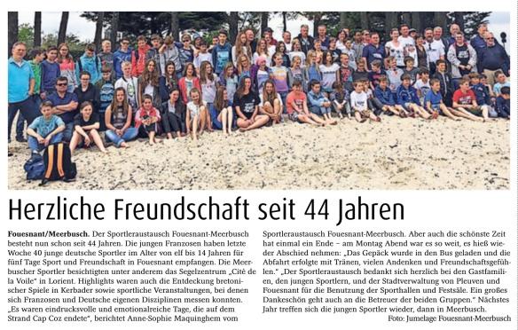 Meerbuscher Nachrichten 25. Mai 2016